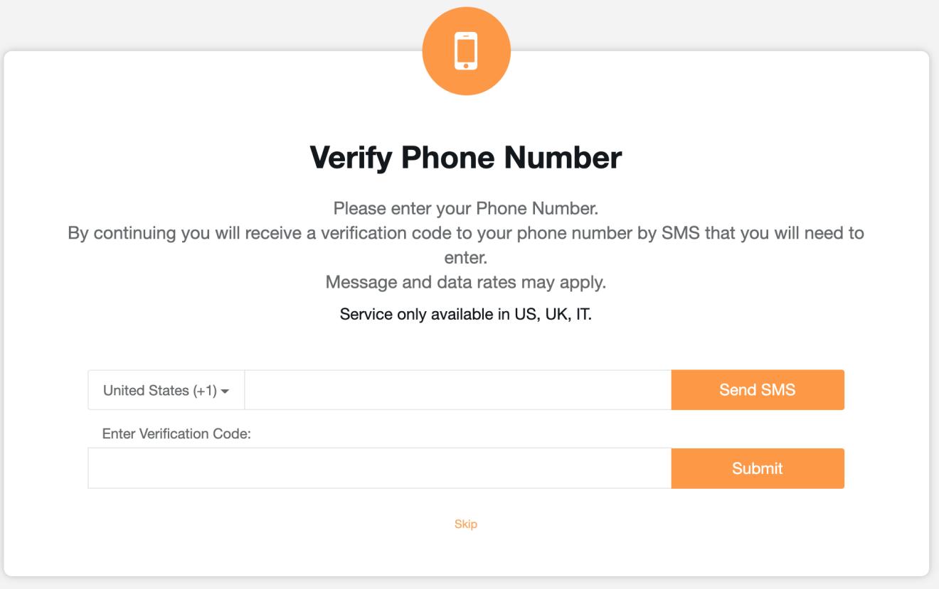 cashbackbase手机号验证